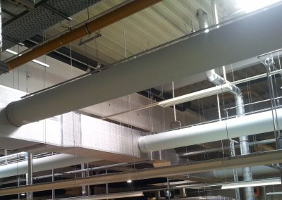 Székesfehérvári üzem gyártósori klimatizálás